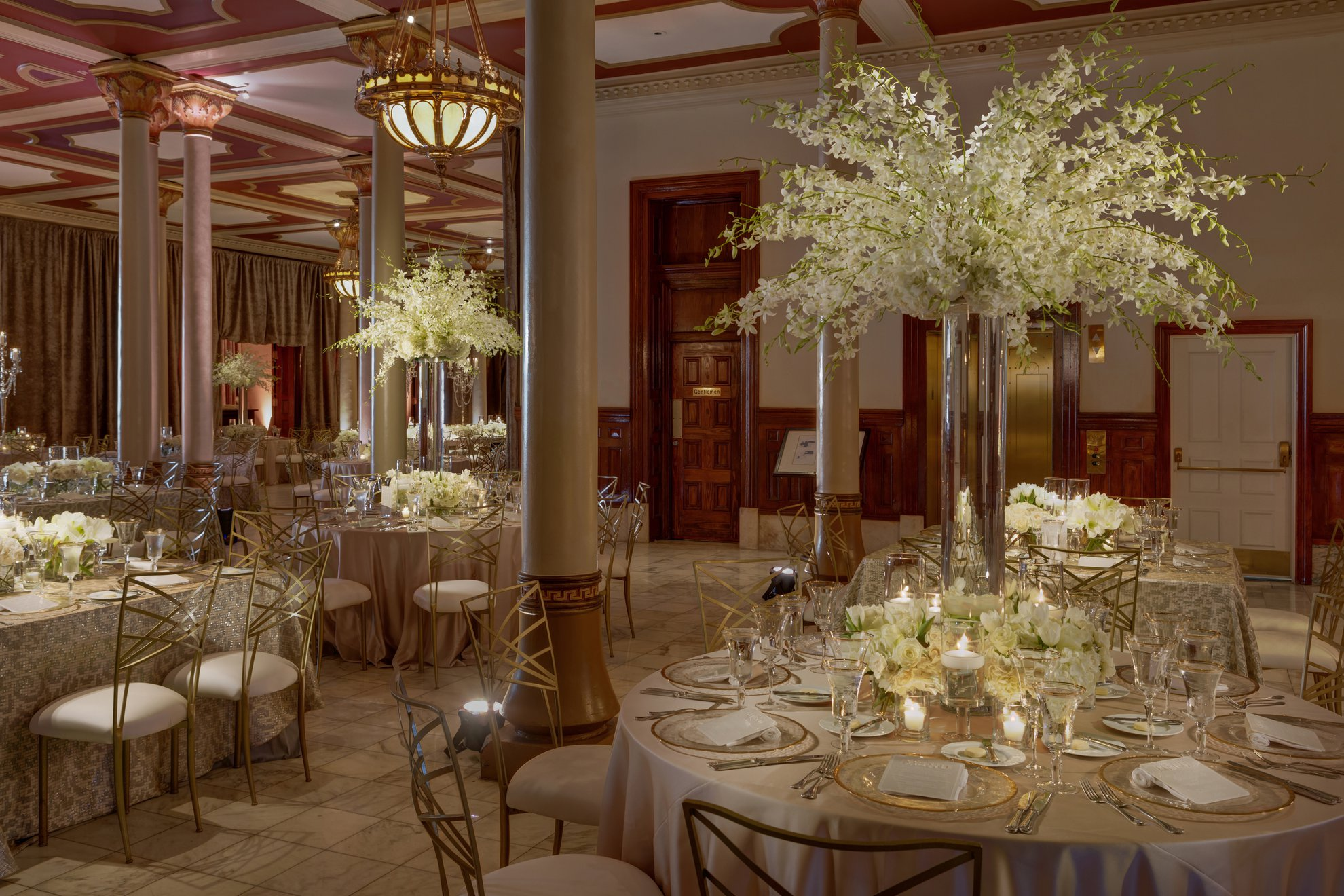 The Driskill Mezzanine Wedding Reception