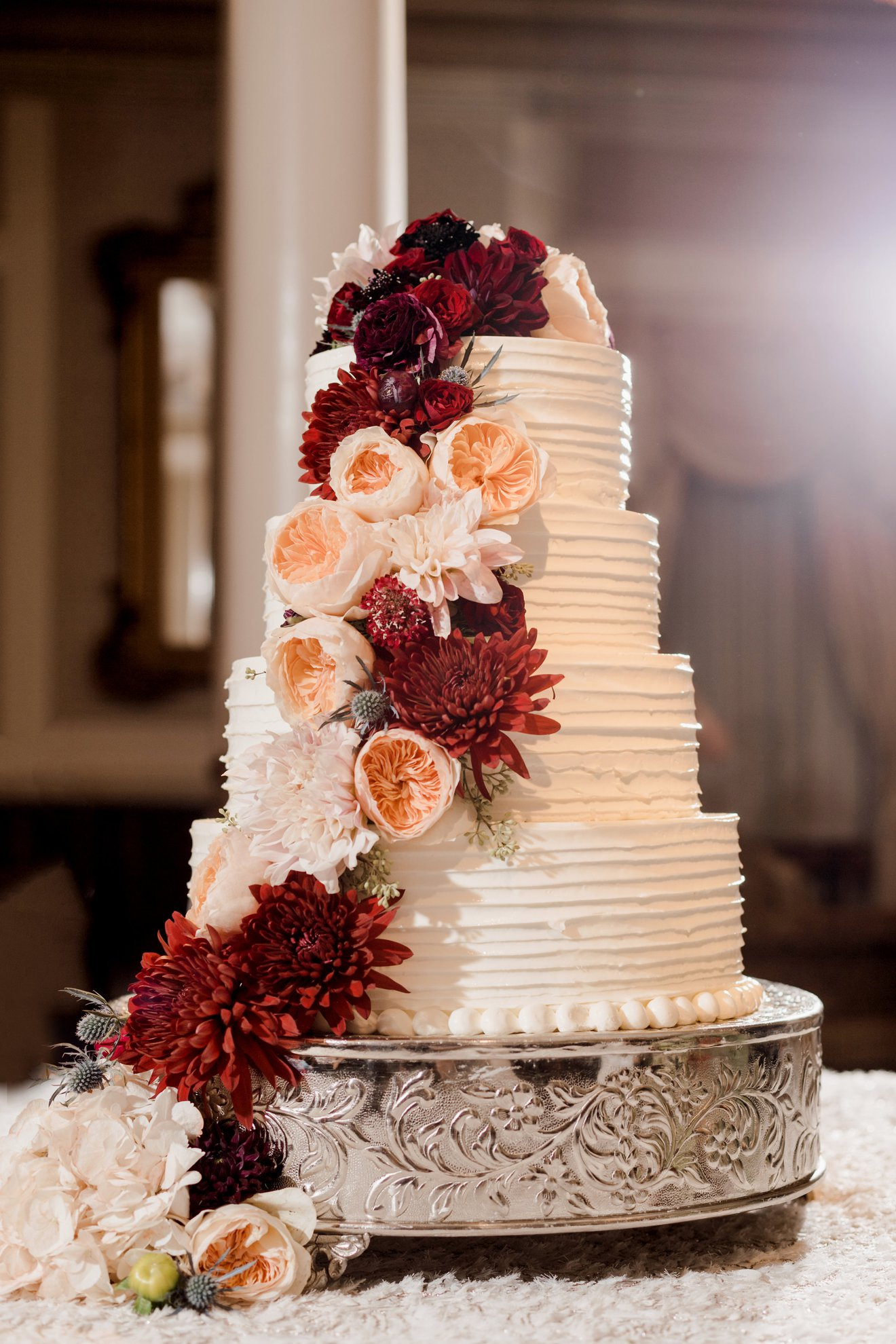 The Driskill Wedding Cake