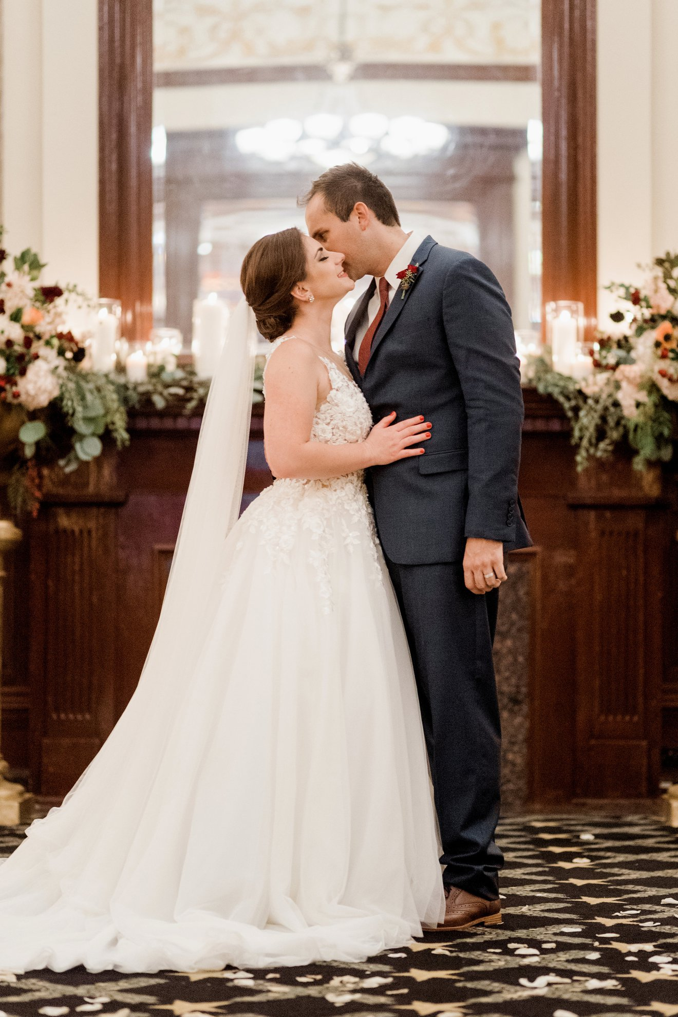 The Driskill Austin Ballroom Weddings